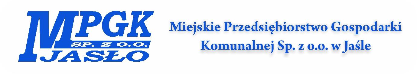 Miejskie Przedsiebiorstwo Gospodarki Komunalnej w Jasle
